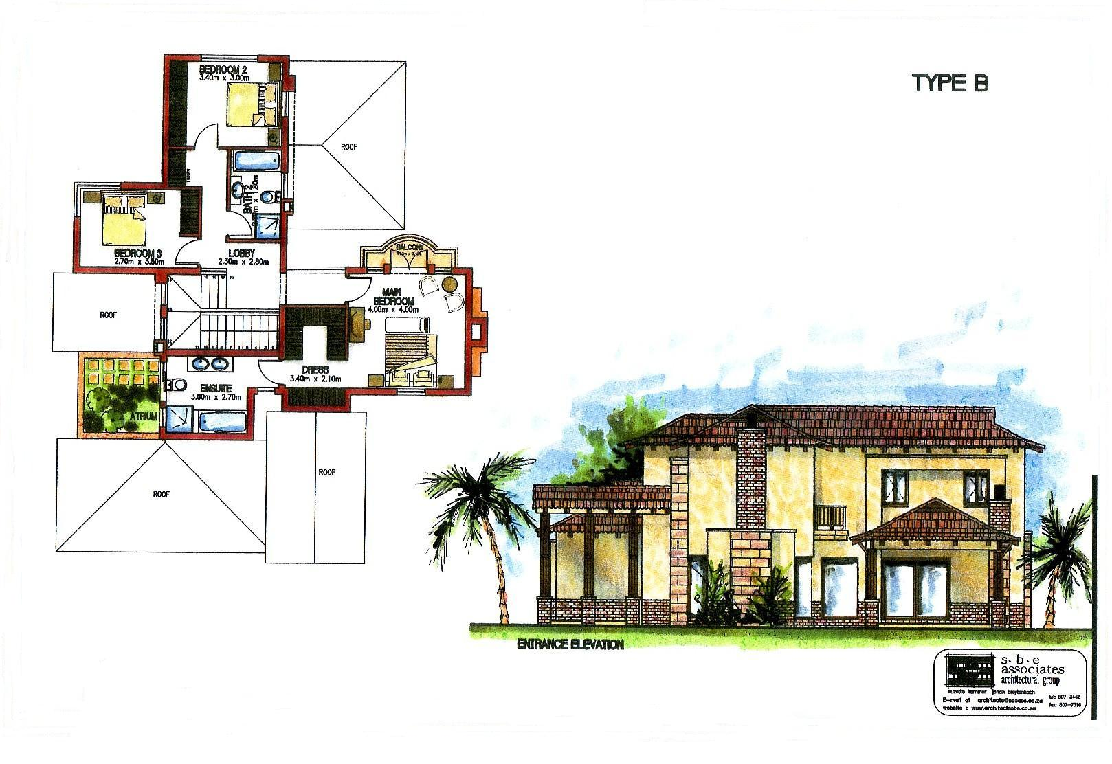 House Blueprint Images Of Artist Impression 04